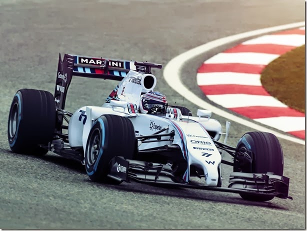 F1 2014 – Williams, Martini, nostalgia e esperança