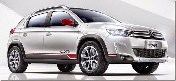 Irmão do Peugeot 2008, Citroën CX-R é mostrado como conceito em Pequim