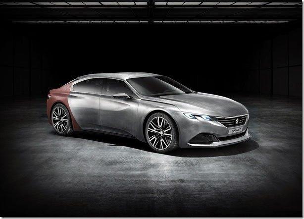 Peugeot apresentará o luxuoso Exalt Concept em Pequim