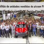 Fiat Strada completa 1 milhão de unidades produzidas e já está em 2015
