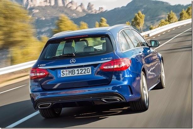 Mercedes apresenta o novo Classe C Estate