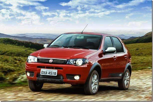 Fiat Palio Fire Way chega por R$ 27.860