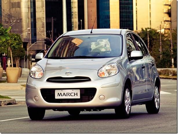 Nissan já oferece últimas unidades do March mexicano