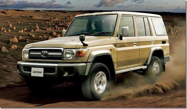 Toyota Land Cruiser 70 completa 30 anos e volta a ser produzido
