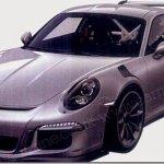 Novo Porsche 911 GT3 RS é revelado por patentes