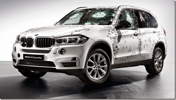 Blindado, BMW X5 Security Plus será mostrado na Rússia