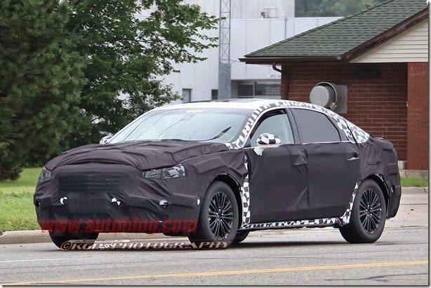 Ford já trabalha na reestilização do Fusion