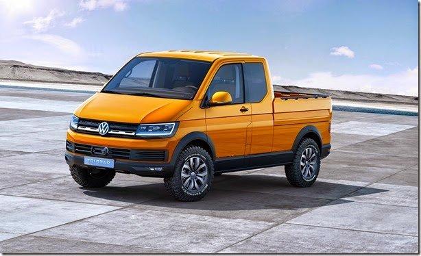 Volkswagen Tristar revela o futuro do Transporter T6