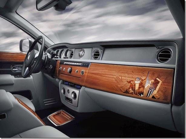 Rolls-Royce Phantom Metropolitan Collection tem acabamento que é uma obra de arte