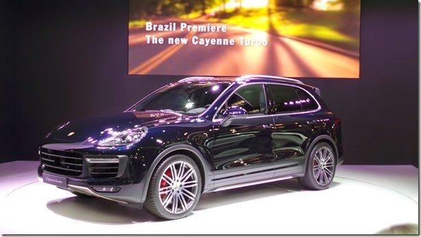 Salão de São Paulo – Porsche Cayenne reestilizado é o destaque da marca