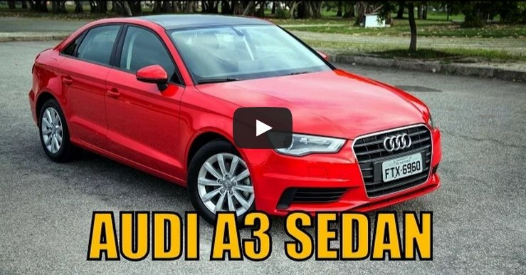 Onboard – Audi A3 Sedan Attraction 1.4T