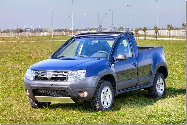 Dacia Duster Picape é adaptação para empresa de petróleo