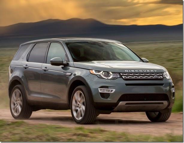 Land Rover Discovery Sport teria versão esportiva