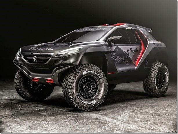 Peugeot 2008 DKR estará no Salão do Automóvel