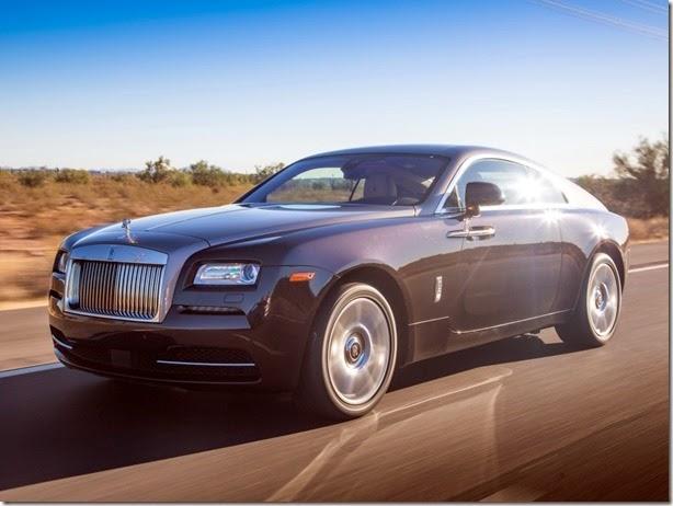 Rolls-Royce Wraith chega ao Brasil por R$ 3,2 milhões