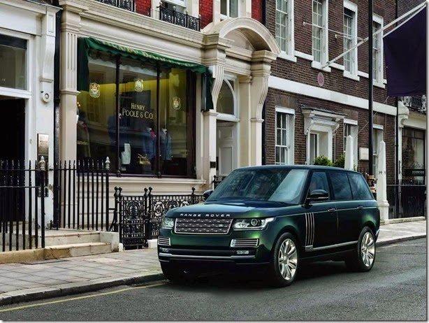 Land Rover SVO apresenta versão mais luxuosa e cara do Range Rover