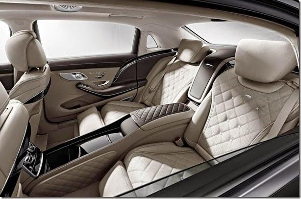 Mercedes-Maybach S600 tem primeiras imagens do interior reveladas