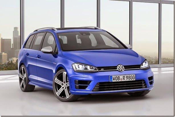 Volkswagen apresenta o Golf R Variant
