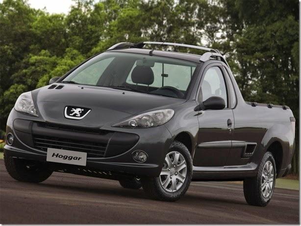 Peugeot declara fim de Hoggar e 207 Sedan