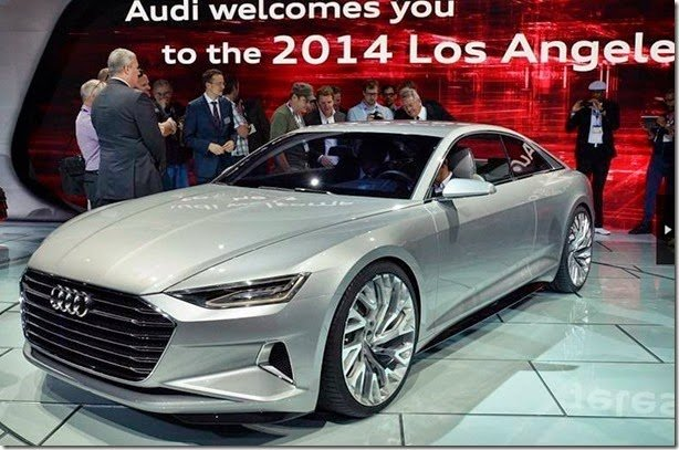 Audi Prologue Concept antecipa o A9 e nova frente do A4