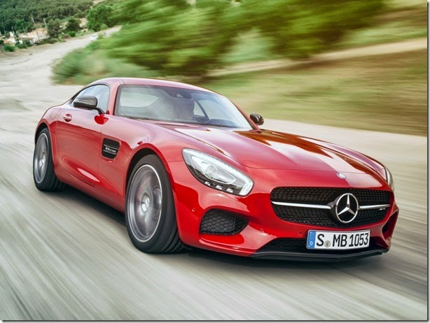 Mercedes-AMG GT GT3 será lançado em 2016