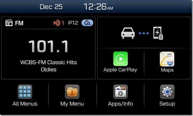 Hyundai mostrará central com Apple CarPlay e Android Auto na CES, em janeiro