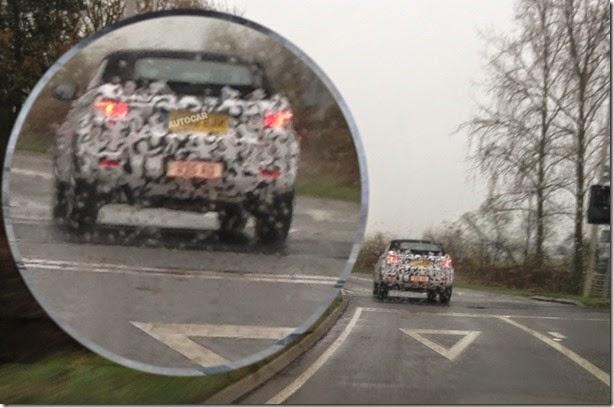 Range Rover Evoque Cabrio é flagrado em testes