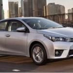 Toyota Corolla foi o carro mais vendido do mundo em 2014