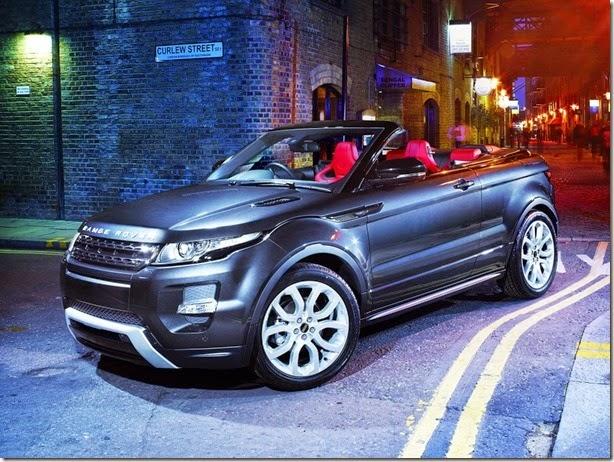 Range Rover Evoque Cabrio pode ser lançado ainda este ano