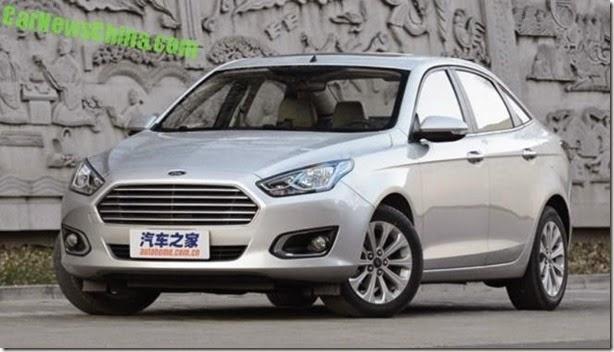 Novo Ford Escort é lançado por R$ 42 mil na China