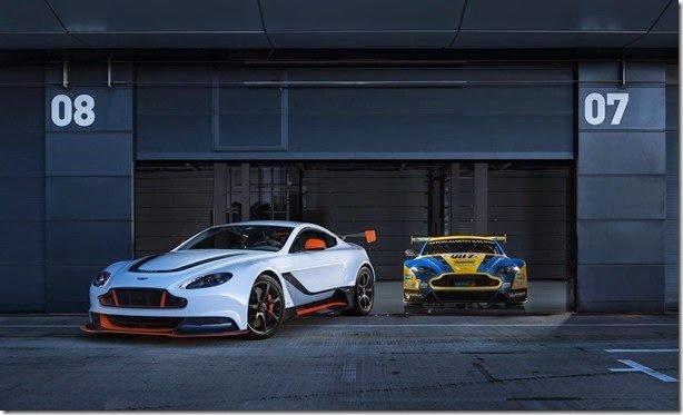 Novo Aston Martin Vantage GT3 tem 600cv