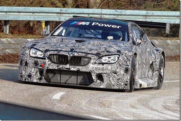 BMW M6 GT3 tem primeiras imagens reveladas
