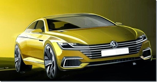 Conceito da Volkswagen quer mostrar novos rumos do design da marca