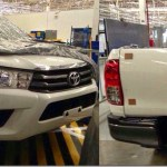 Nova Toyota Hilux 2016 aparece sem camuflagem na Tailândia