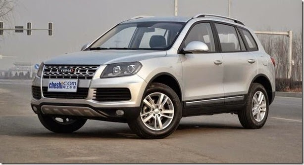 Clone do Volkswagen Touareg, Yema T70 aparece na China