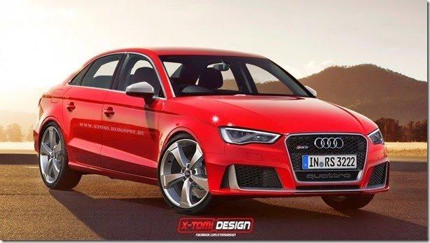 Audi estaria trabalhando em RS3 Sedan para os Estados Unidos