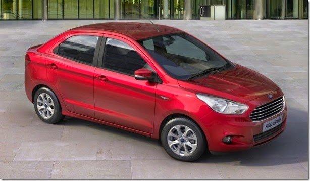 Ka+ cotó: Ford Figo Aspire estreia na Índia e tem até câmbio Powershift
