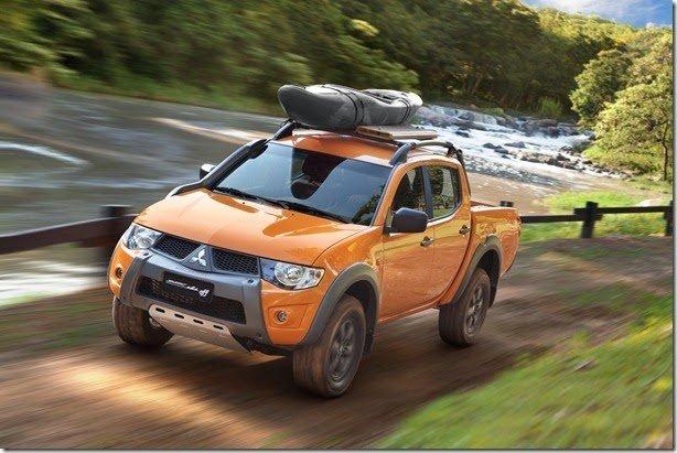 Mitsubishi L200 Triton Savana Off encara qualquer aventura por R$ 128.990