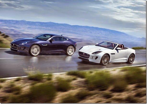 Jaguar F-Type SVR pode ter mais de 600cv