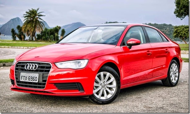 Audi A3 Sedan fabricado no Brasil chega às lojas em outubro