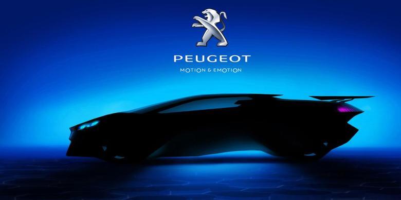 Peugeot mostra mais imagens de seu novo conceito esportivo