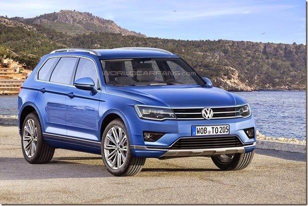 Projeção antecipa a próxima geração do Volkswagen Touareg