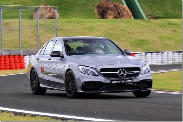 Experimentamos o novo Mercedes-AMG C63 S, que chega ao Brasil por R$ 546 mil