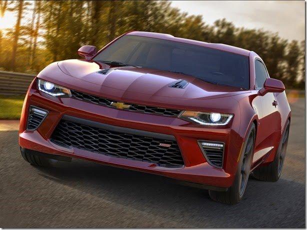 Este é o novo Chevrolet Camaro 2016