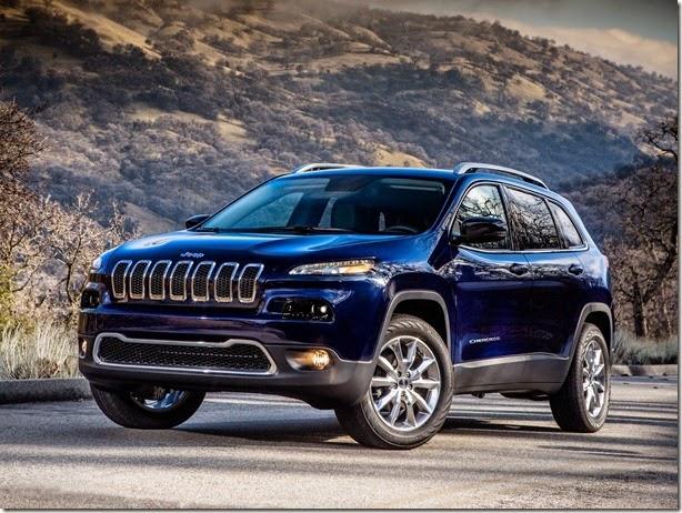 Jeep Cherokee é chamado para recall por problemas nos airbags