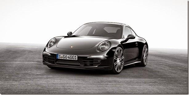Porsche mostra novos 911 Carrera e Boxster Black Edition