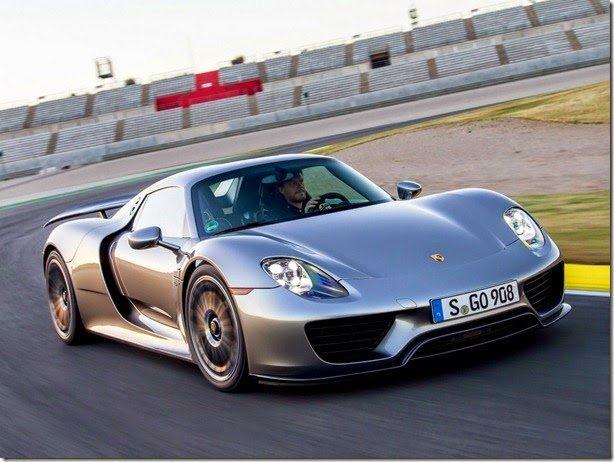 Porsche 918 Spyder é convocado para recall por falhas na fiação elétrica