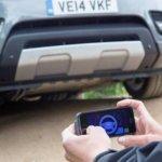 Land Rover mostra Range Rover Sport controlado por smartphones