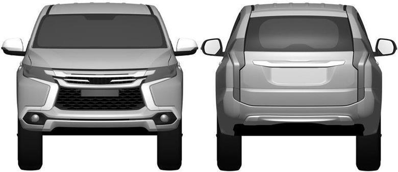 Mitsubishi divulga teaser do novo Pajero Dakar