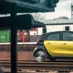 "Smart transforma ForFour em ""mini trem"" no Reino Unido"